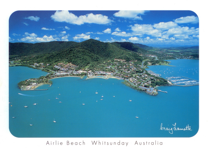 Whitsunday Postcard Collection