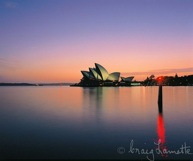 Opera House in the Early Morning